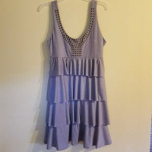 Dresses & Skirts - Tiered grey dress